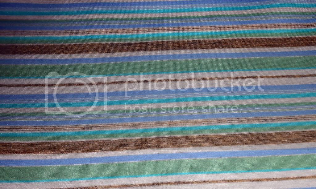 Limestone Stripe on PUL Diaper Cut - 23x23 cut 
