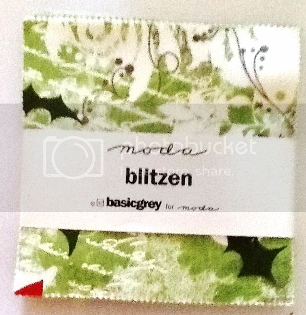 Charm Packs - MODA &quot;Blitzen&quot; by Basicgrey PRECUT 5&quot;x5&quot; 42 pieces in each pack