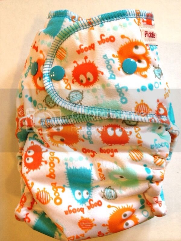 BLOWOUT....Guppy Ooga Booga Dressed Up Cadillacs Diapers W/ printed cotton microfleece- Ships NOW