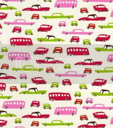 Girly Vintage Cars on PUL